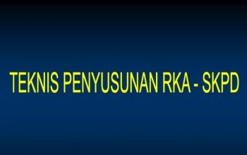 Diklat Penyusunan RKA, DPA SKPD