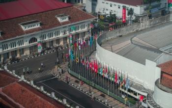 Diklat Pelestarian Kawasan Pusaka Bandung 2018