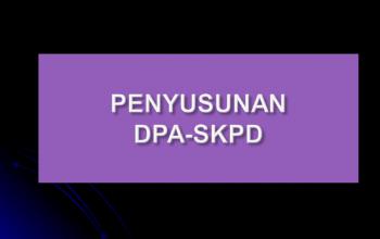 Diklat Penyusunan DPA SKPD