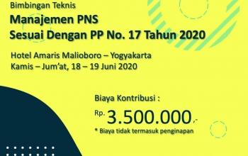 Manajemen PNS PP 17/2020