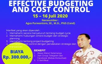 Webinar Effective Budgeting