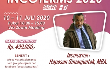 Training Incoterms 2020