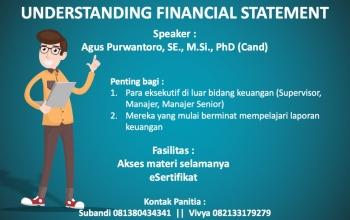 Webinar Understanding Financial Statement